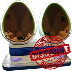 Egg VR Arcade Game Machine - Two Seat