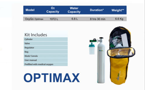 Optimax Portable Oxygen Cylinder