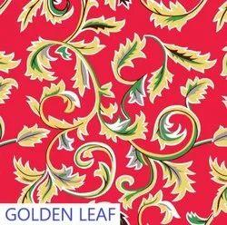 Non Woven Printed Carpet Design No - Golden Red