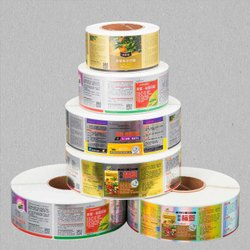 Paper And Pvc Self Adhesive Label For Pharma Industries, in PAN INDIA, Multicolor