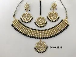 kundan Beads Nacklace Set
