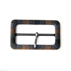 metal Fabric Covered Buckle, Packaging Type: Packet