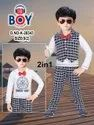 0*2 Year Cotton Boys Party Wear