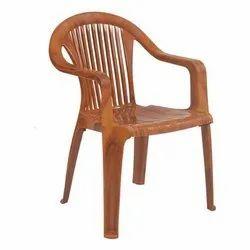 Brown Plastic Chair