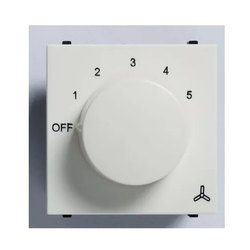 White Polycarbonate Fan Regulator