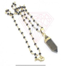 Black Onyx Pencil Pendant