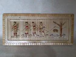 Bamboo Wall Hanging Painting