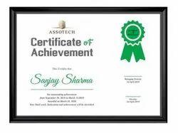 Certificate Design Service