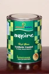 Aspire High Gloss Premium Synthetic Enamel Paint