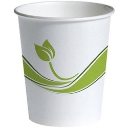 White Printed Paper Disposable Cup, For Event, Capacity: 65 ml
