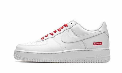 cerrar Himno pintar  Men White Nike Air Force Supreme Shoes, Size: 41 To 45, Rs 1600 /pair | ID:  22626008273
