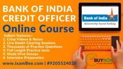 English Best Online Course For Bank Of India (Boi) Credit Officer Exam