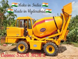 Self Loader Mobile Concrete Mixer