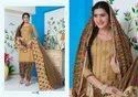 Pashmina Unstitched Ladies Embroidered Suit