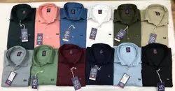 Plain Collar Shirts
