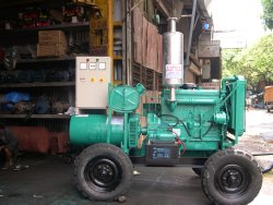 82.5 Kva Ashok Leyland Noise Version Trolly Mounted Diesel Genset