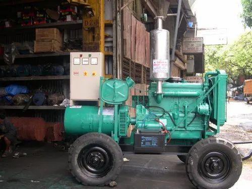 82.5 Kva Ashok Leyland Noise Version Trolly Mounted Diesel Genset