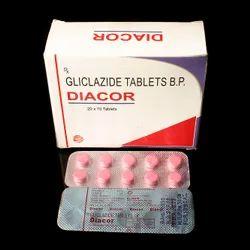 DIACOR Gliclazide Tablet, Prescription, Treatment: Anti Diabetic Medicine