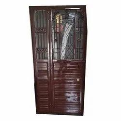 Polished Mild Steel Interior Door, Single, Size/Dimension: 6x3 Feet