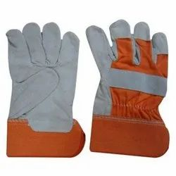 RLG - 1217 Leather Safety Working Gloves
