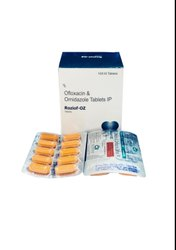 Roziof-OZ OFLOXACIN 200 MG. & ORNIDAZOLE 500 MG, 10 X 10 Tablets, Prescription