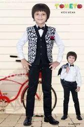 BLACK & WHITE Boy KIDS PARTY WEAR