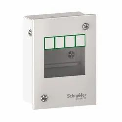 Schneider Easy9 Metal Enclosure for Modular Devices 2 Modules, Degree of Protection: IP30
