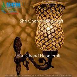 Shri Chand Handicraft Turkish Mosaic Decorative Wall Light For Use Vintage Haveli