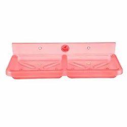 Pink Acrylic Soap Dish