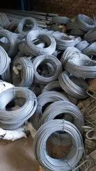10 Gauge Hot Dipped Galvanized Iron Wire stay wire, For Electrical overhead material, 1200 Mpa