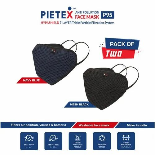 PIETEX Cotton Outdoor Dust Protection Mask