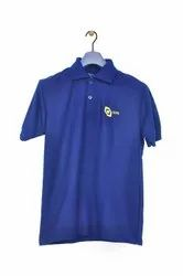 100 % Polyester Printed Golf Polo T Shirt, Size: L-XL