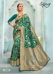Royal Look Designer Jacquard Saree