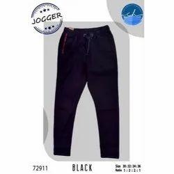 Mens Black Jogger Pants