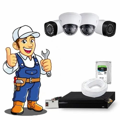 Bullet and Dome Camera CCTV Security Maintenance Service, Pan India, Rs 500  /camera | ID: 23055641597