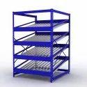 3000 Storage Rack Ss/ms Fifo Racks, For Industrial