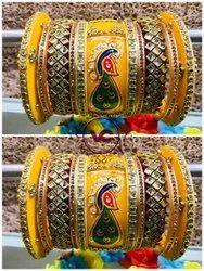 Designer Party Wear Carving Bangle