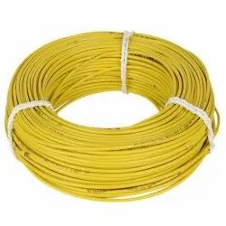 Yellow 1mm Electrical Wire