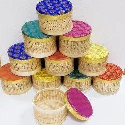Bamboo Round Gift Box