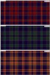 Pure Cotton Indigo Check Fabric, For Garments, 58 Inch