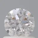 0.70ct Round Brilliant Faint Pink SI1 GIA Certified Natural Diamond