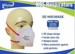 Reusable Magnum Mh3d N95 Mask, Certification: Niosh