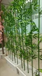 Dekorr Green Artificial Bamboo Plant