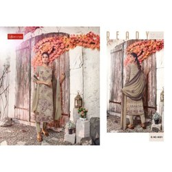 Vishwam Printed Designer Crepe Dress Materials