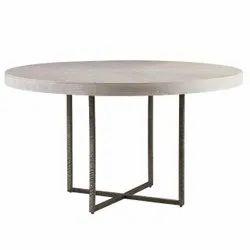 Cafeteria Furniture In Metal Pipe Leg