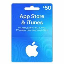 iTunes UK 50 UK Gift Card