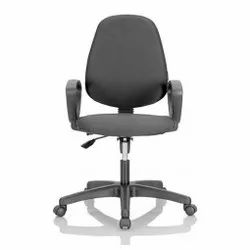 Black Revolving Office Chair