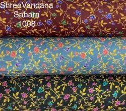 Alphine Nighty Fabric, Digital Prints, Multicolour