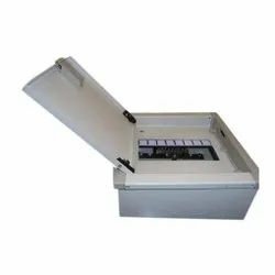 Aexon Mild Steel (MS) 4 Way MCB Distribution Metal Box, For Electric Fittings, IP44