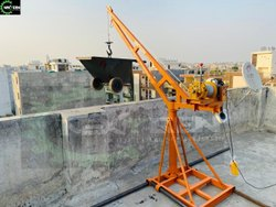 Next Gen Single Phase Mini Crane Without Trolley